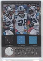 DeAngelo Williams, Steve Smith, Jonathan Stewart /24
