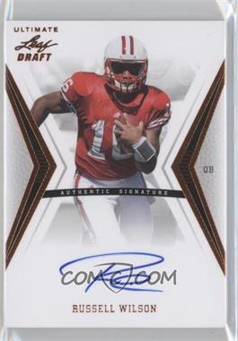 2012 Ultimate Leaf Draft - [Base] #RW1 - Russell Wilson