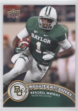 2012 Upper Deck - Rookie Exclusives #RE-KW - Kendall Wright