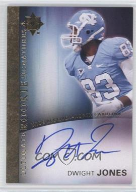 2012 Upper Deck - Ultimate Collection Ultimate Rookie Signatures #8 - Dwight Jones