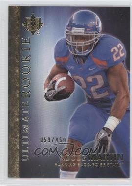 2012 Upper Deck - Ultimate Collection Ultimate Rookie #19 - Doug Martin /450