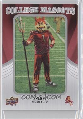 2012 Upper Deck College Mascots Manufactured Patch #CM-2 - Sparky (Arizona State)