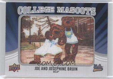 2012 Upper Deck College Mascots Manufactured Patch #CM-51 - Joe and Josephine Bruin