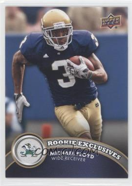 2012 Upper Deck Rookie Exclusives #RE-MF - Michael Floyd