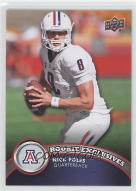 2012 Upper Deck Rookie Exclusives #RE-NF - Nick Foles