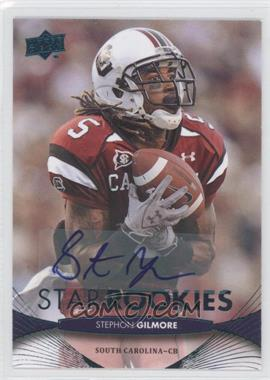 2012 Upper Deck Star Rookies Autographs [Autographed] #205 - Stephon Gilmore