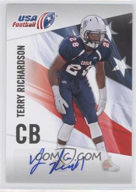 2012 Upper Deck USA Football Box Set [Base] Autograph #45 - Terry Richardson