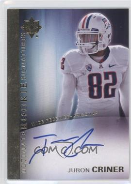 2012 Upper Deck Ultimate Collection Ultimate Rookie Signatures #12 - Juron Criner