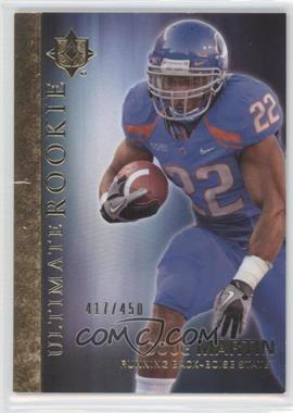 2012 Upper Deck Ultimate Collection Ultimate Rookie #19 - Doug Martin /450