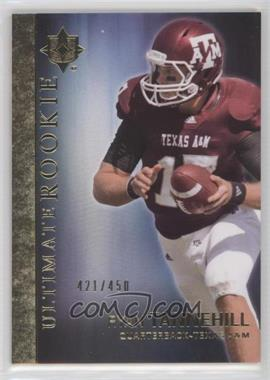 2012 Upper Deck Ultimate Collection Ultimate Rookie #56 - Ryan Tannehill /450