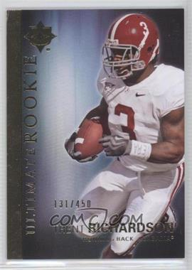 2012 Upper Deck Ultimate Collection Ultimate Rookie #59 - Trent Richardson /450