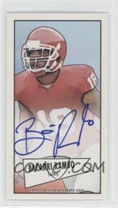 2013 Bowman - Autograph Mini Cards 1952 Design - [Autographed] #52B-BR - Bacarri Rambo
