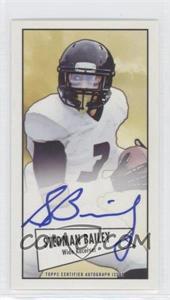2013 Bowman - Autograph Mini Cards 1952 Design - [Autographed] #52B-SB - Stedman Bailey