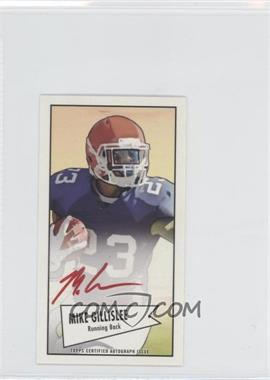2013 Bowman - Autograph Mini Cards 1952 Design - Red Ink [Autographed] #52B-MGI - Mike Gillislee
