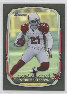 2013 Bowman - [Base] - Black Rainbow Foil #9 - Patrick Peterson