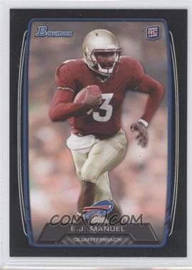 2013 Bowman - [Base] - Black #127 - EJ Manuel