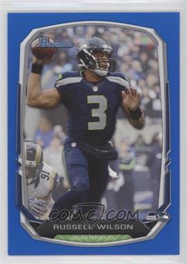2013 Bowman - [Base] - Blue #25 - Russell Wilson /99