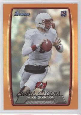 2013 Bowman - [Base] - Orange Rainbow Foil #128 - Mike Glennon /299