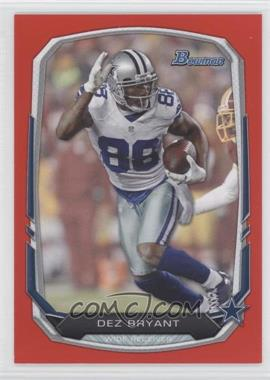 2013 Bowman - [Base] - Red #88 - Dez Bryant /25