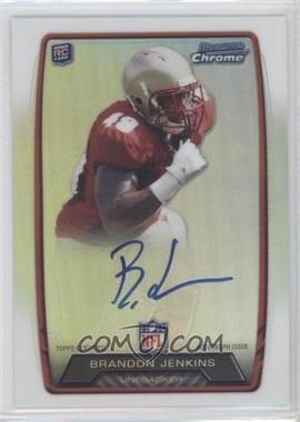 2013 Bowman - Rookie Chrome Refractor Autograph #RCRA-BJ - Brandon Jenkins