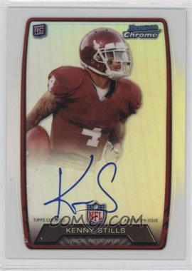 2013 Bowman - Rookie Chrome Refractor Autograph #RCRA-KS - Kenny Stills