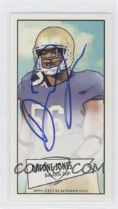 2013 Bowman Autograph Mini Cards 1952 Design [Autographed] #52B-DJ - Datone Jones