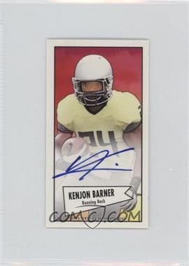 2013 Bowman Autograph Mini Cards 1952 Design [Autographed] #52B-KB - Kenjon Barner