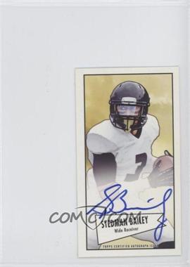 2013 Bowman Autograph Mini Cards 1952 Design [Autographed] #52B-SB - Stedman Bailey