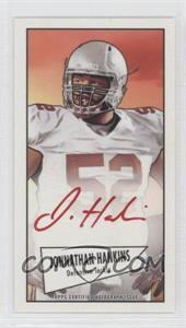 2013 Bowman Autograph Mini Cards 1952 Design Red Ink [Autographed] #52B-JHA - Johnathan Hankins /5