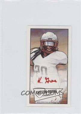 2013 Bowman Autograph Mini Cards 1952 Design Red Ink [Autographed] #52B-KG - Khaseem Greene /5