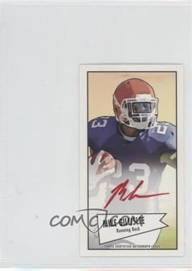 2013 Bowman Autograph Mini Cards 1952 Design Red Ink [Autographed] #52B-MGI - Mike Gillislee /5
