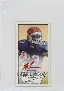 2013 Bowman Autograph Mini Cards 1952 Design Red Ink [Autographed] #52B-MGI - Mike Gillislee