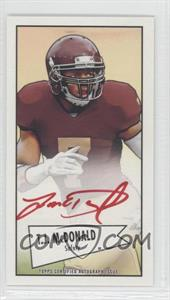 2013 Bowman Autograph Mini Cards 1952 Design Red Ink [Autographed] #52B-TM - T.J. McDonald /5