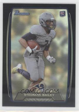 2013 Bowman Black Rainbow Foil #121 - Stedman Bailey
