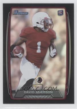 2013 Bowman Black Rainbow Foil #217 - David Amerson