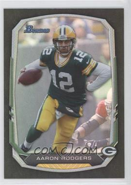 2013 Bowman Black Rainbow Foil #40 - Aaron Rodgers