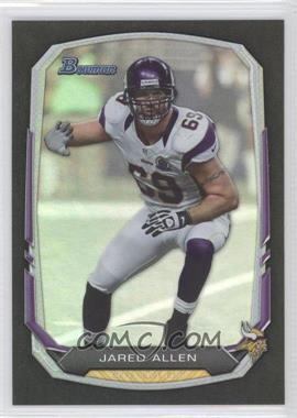 2013 Bowman Black Rainbow Foil #64 - Jared Allen