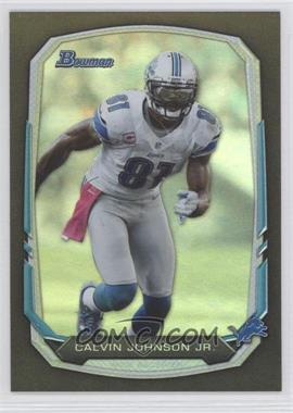 2013 Bowman Black Rainbow Foil #90 - Calvin Johnson