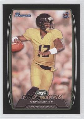 2013 Bowman Black #150 - Geno Smith