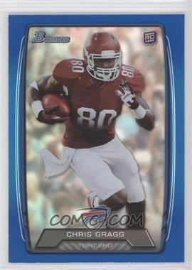 2013 Bowman Blue Rainbow Foil #173 - Chris Gragg /499