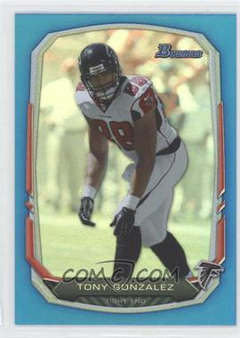 2013 Bowman Blue Rainbow Foil #81 - Tony Gonzalez /99