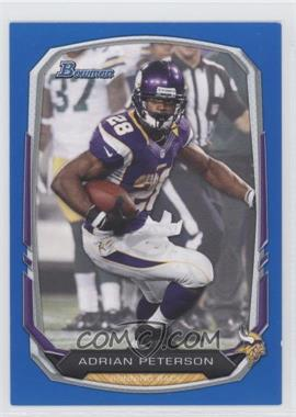 2013 Bowman Blue #1 - Adrian Peterson /99