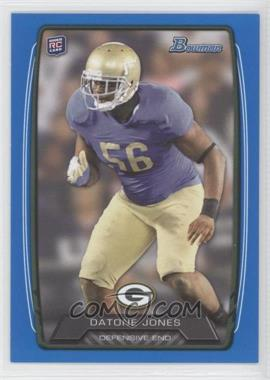 2013 Bowman Blue #115 - Datone Jones /499