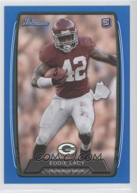 2013 Bowman Blue #140 - Eddie Lacy /499