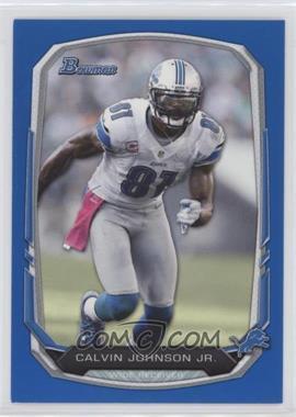 2013 Bowman Blue #90 - Calvin Johnson /99