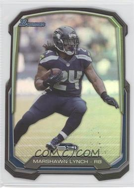 2013 Bowman Die-Cut Insert #BDC-ML - Marshawn Lynch