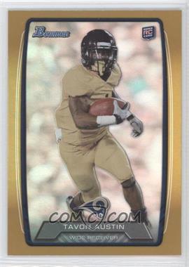 2013 Bowman Gold Rainbow Foil #130 - Tavon Austin /399