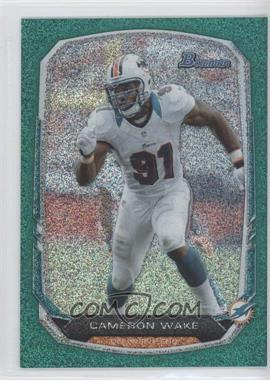 2013 Bowman Green Ice #11 - Cameron Wake /50