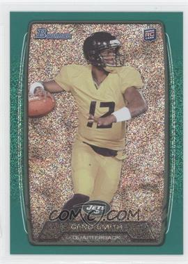 2013 Bowman Green Ice #150 - Geno Smith /50