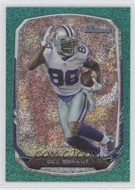 2013 Bowman Green Ice #88 - Dez Bryant /50